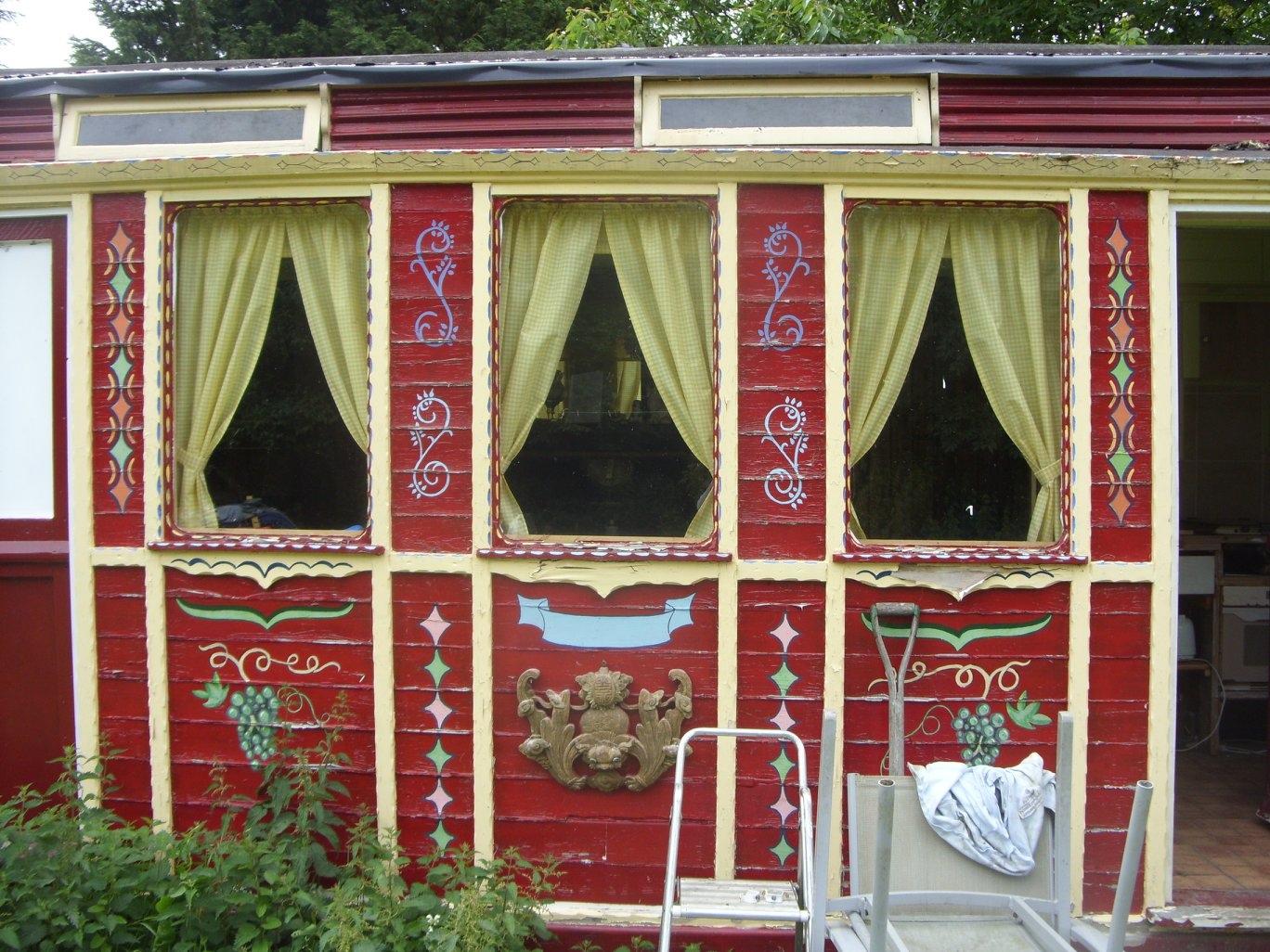 Curtains made by Tovey Mead of SewTovey a West Sussex Seamstress