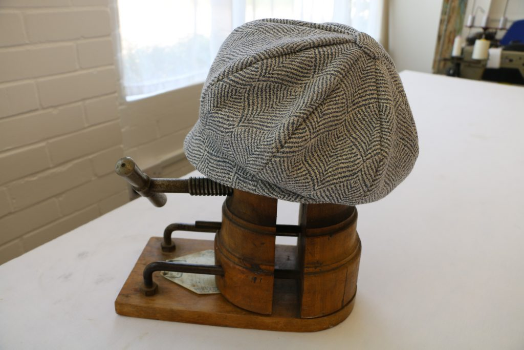 Grey Hat by Tovey Mead of SewTovey Sussex Seamstress