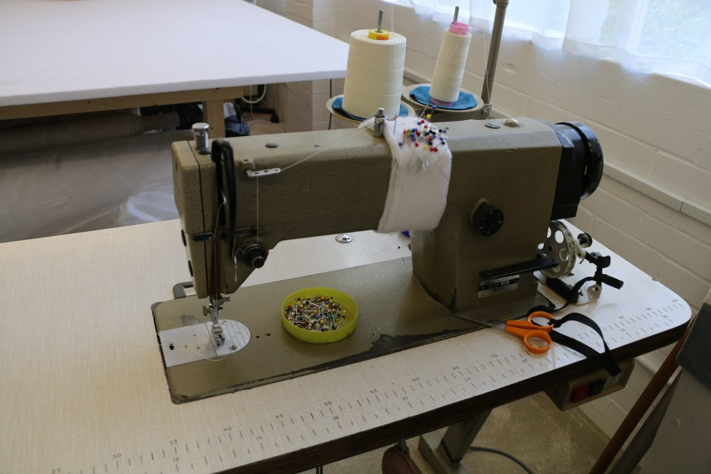 Sewing machine at Sewtovey